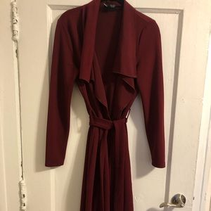 Windsor Burgundy Cardigan